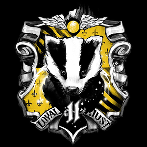 Curious Rebel: Badger House Crest