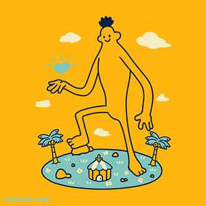 The Yetee: Lovely Giant