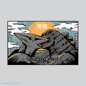 The Yetee: Kaiju kiss
