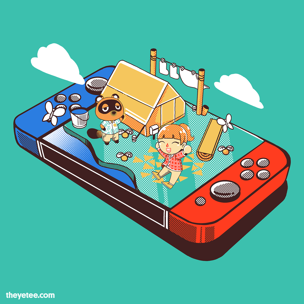 The Yetee: Portable village.