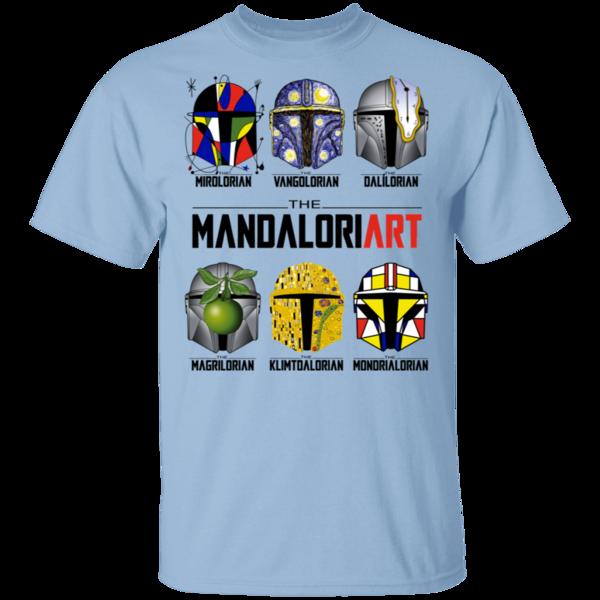 Pop-Up Tee: The Mandaloriart
