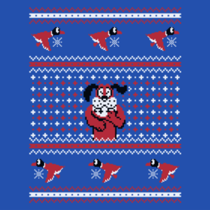 Pop-Up Tee: Festive Duck Hunt