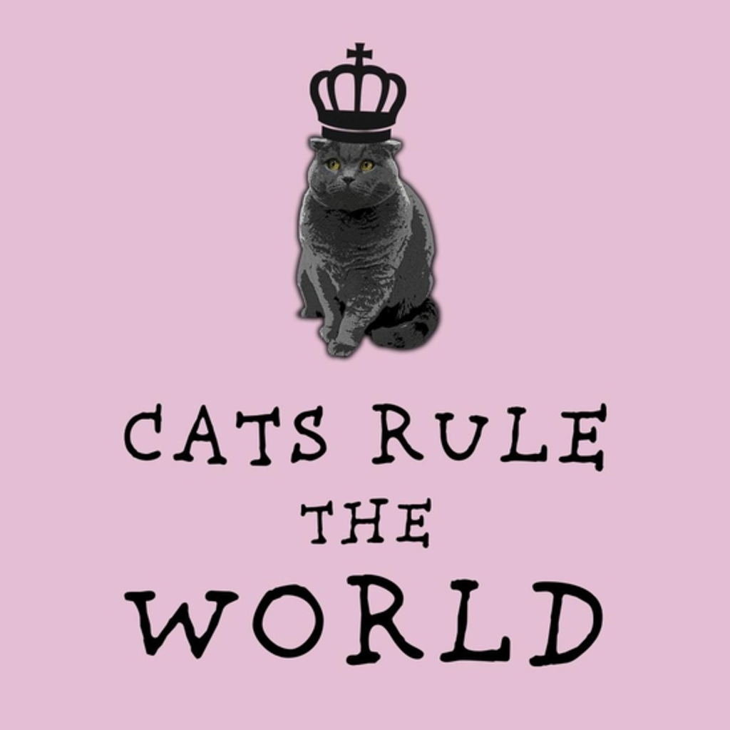 BustedTees: Cats Rule