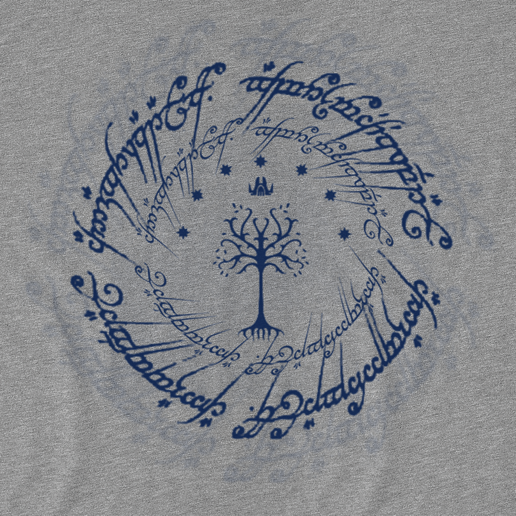 Pop-Up Tee: Gondor - Blue Ink