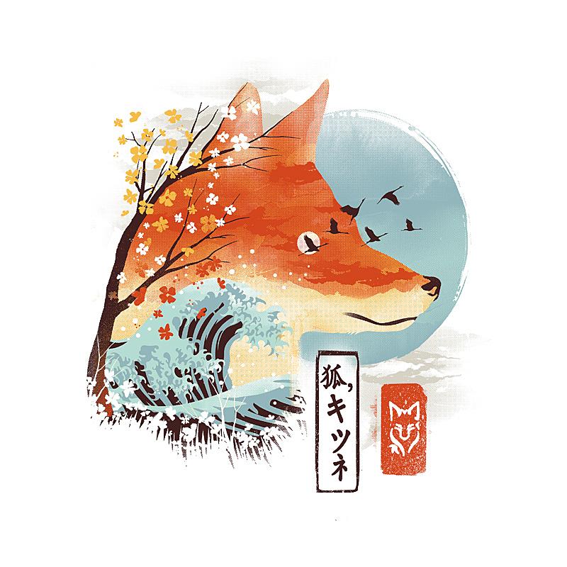 Pampling: Ukiyo-e Red Fox