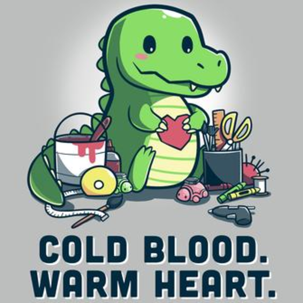 TeeTurtle: Crafty Crocodile