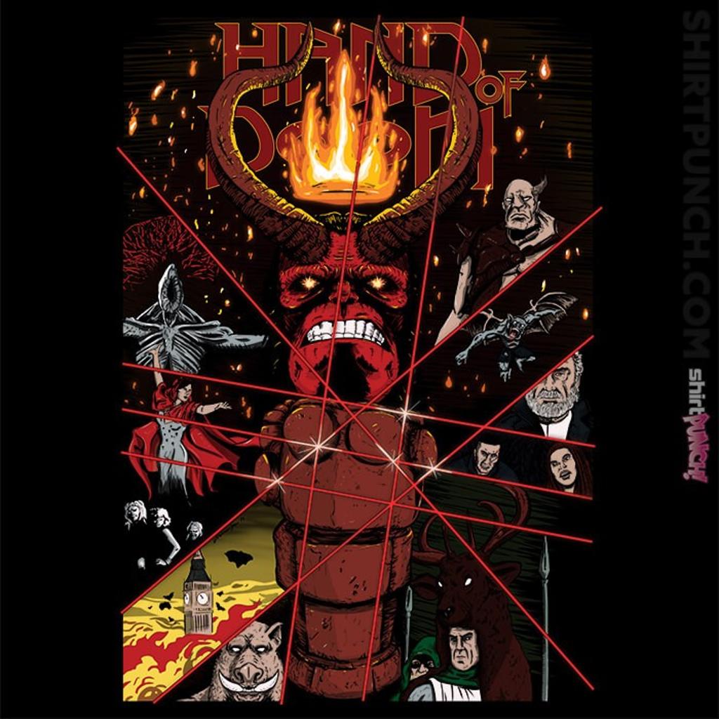 ShirtPunch: Hand Of Doom