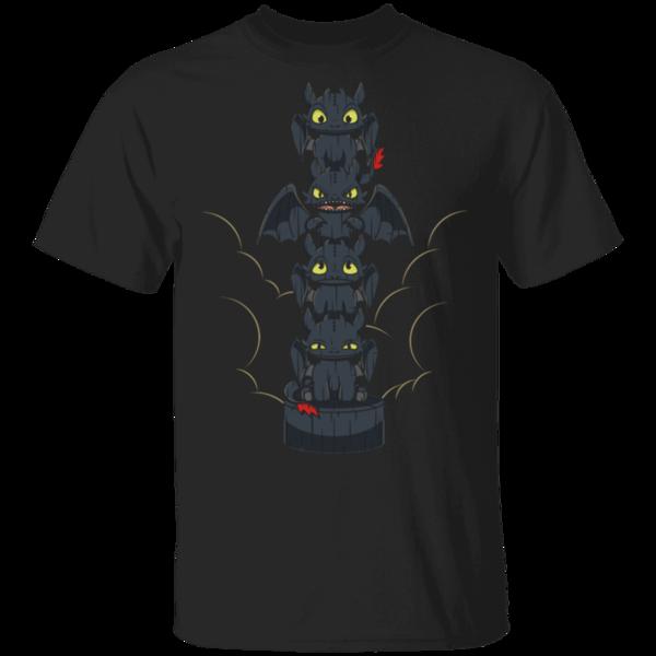 Pop-Up Tee: Dragon Totem Mood
