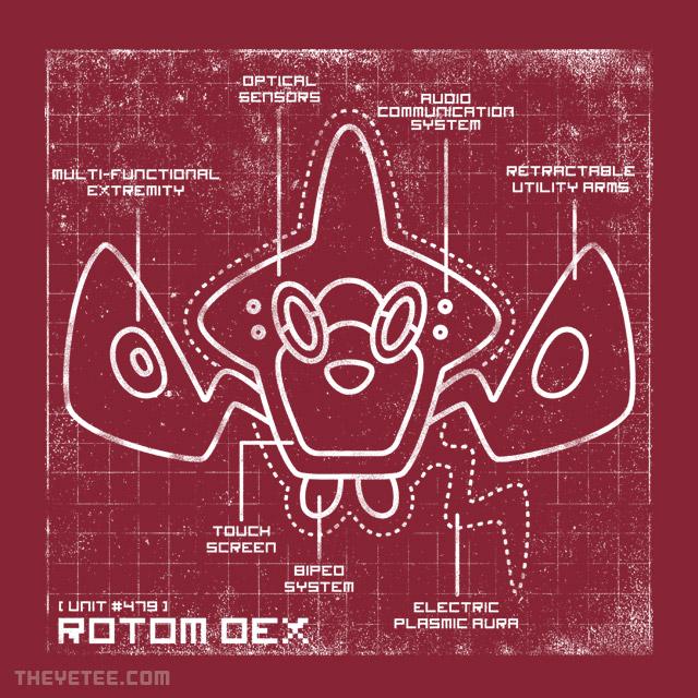 The Yetee: ROTOM DEX