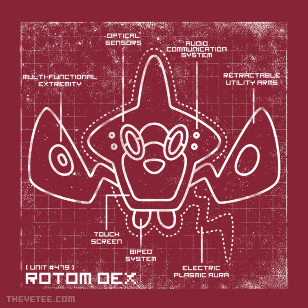 The Yetee: ROTOM DEX