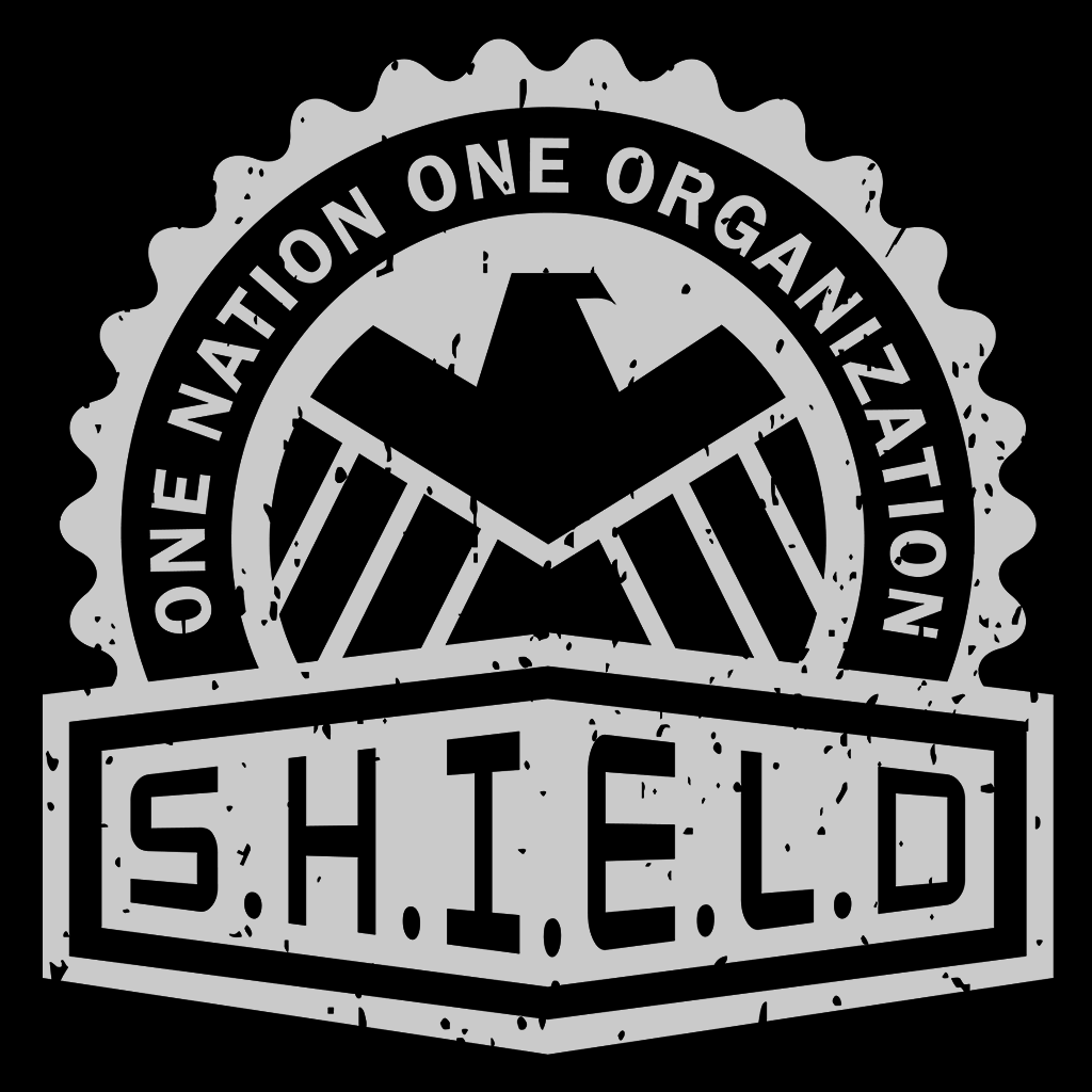 Pop-Up Tee: SHIELD Crest