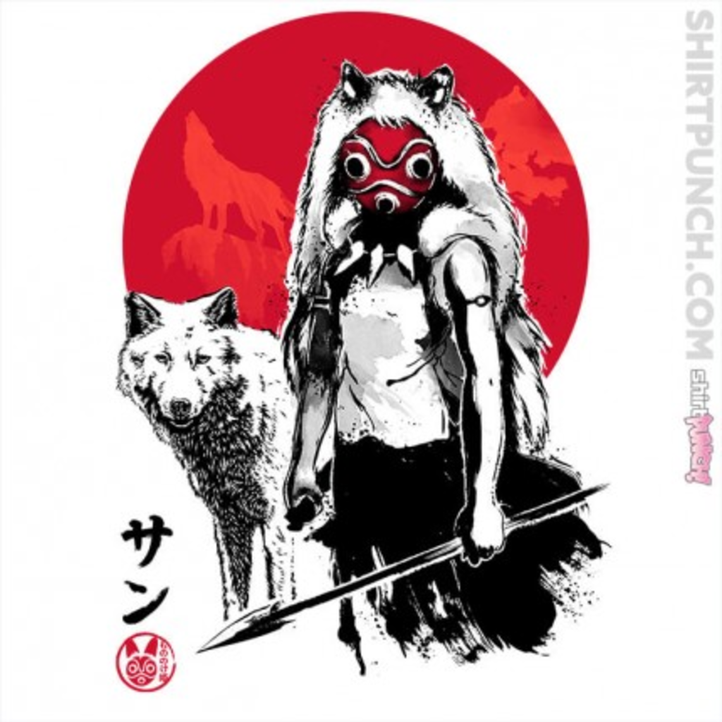 ShirtPunch: Wolf Girl