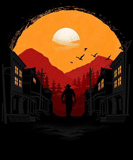 Qwertee: RED DEAD