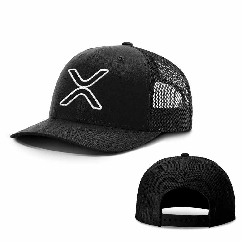 BustedTees: XRP Logo Hats