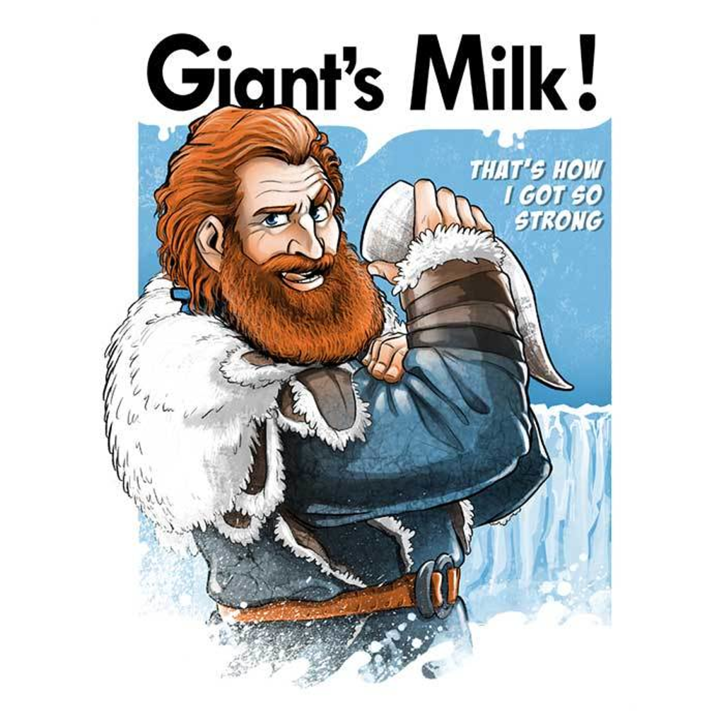 Once Upon a Tee: Giant's Milk