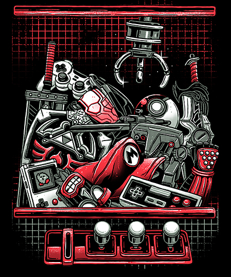 Qwertee: Select your Adventure