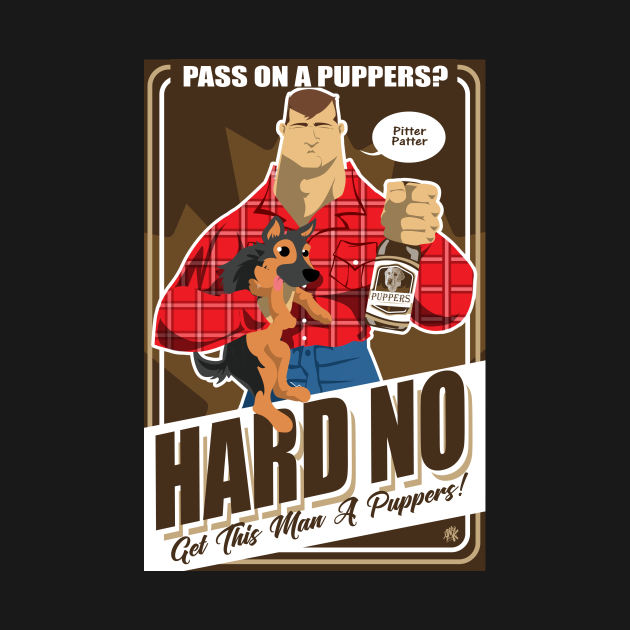 TeePublic: Pass on a Puppers?