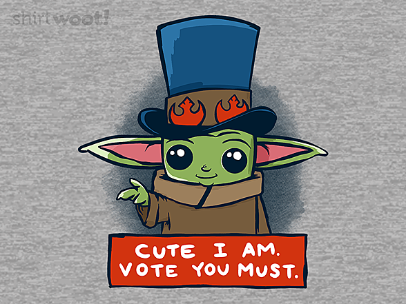 Woot!: Vote You Must