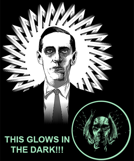 Qwertee: Howard P. Lovecraft