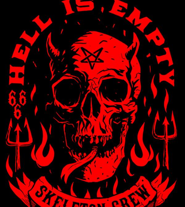 teeVillain: Hell Is Empty