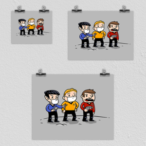 """Woot!: """"Don't Be a Redshirt"""" Poster"""