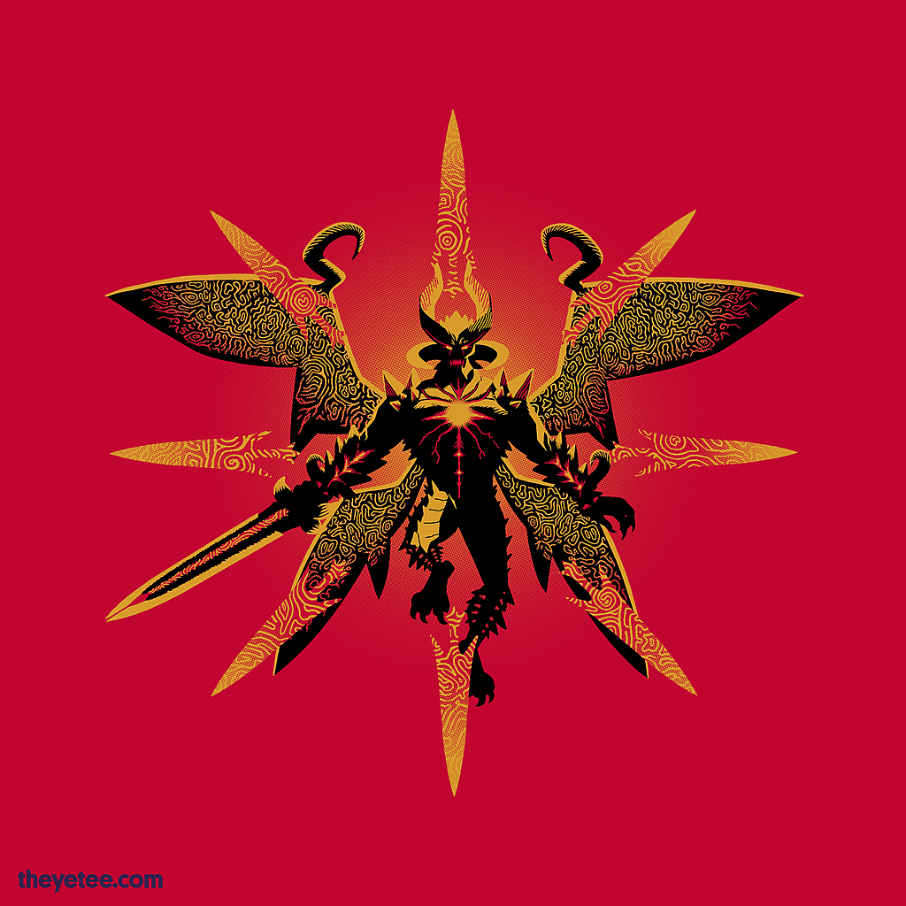 The Yetee: Sin Devil Trigger