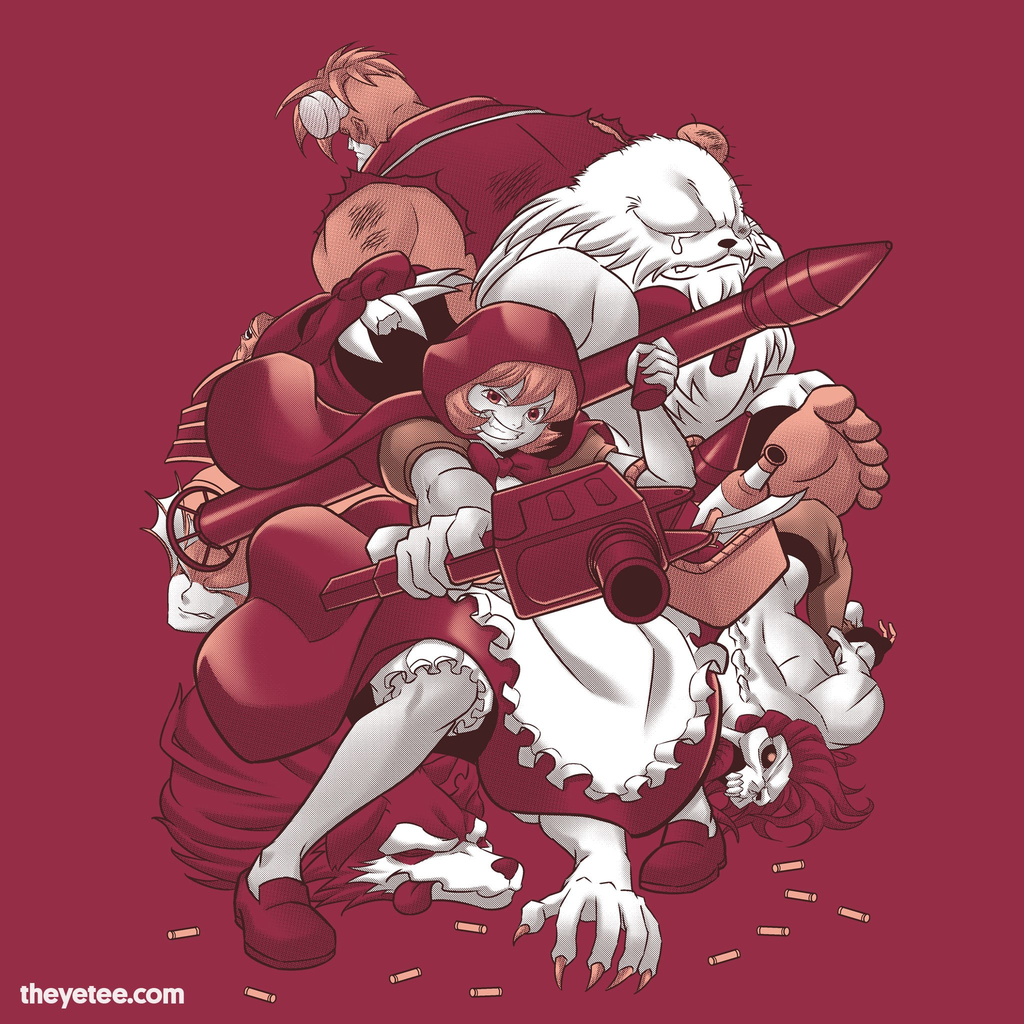 The Yetee: Little Red Hunter