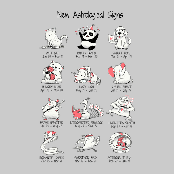 NeatoShop: New Astrological Signs