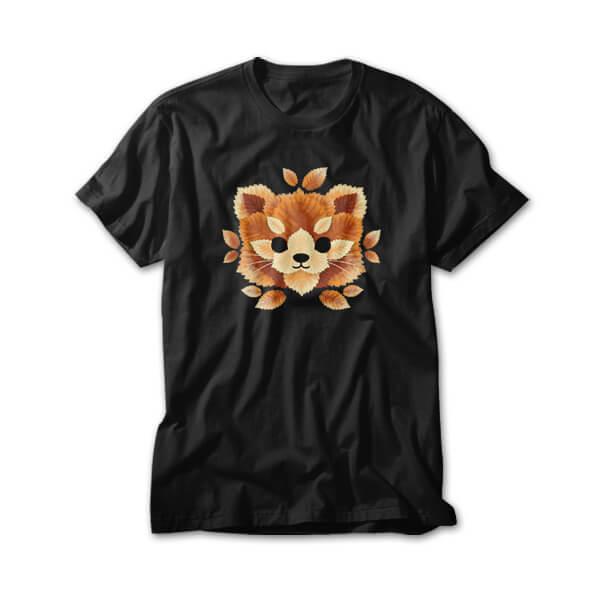 OtherTees: Red panda of leaves