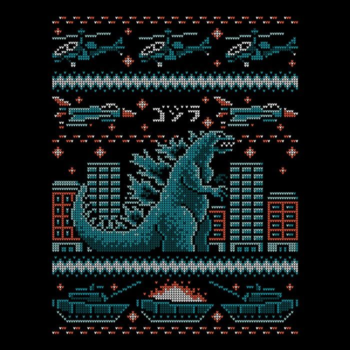 Once Upon a Tee: Ugly Kaiju Sweater