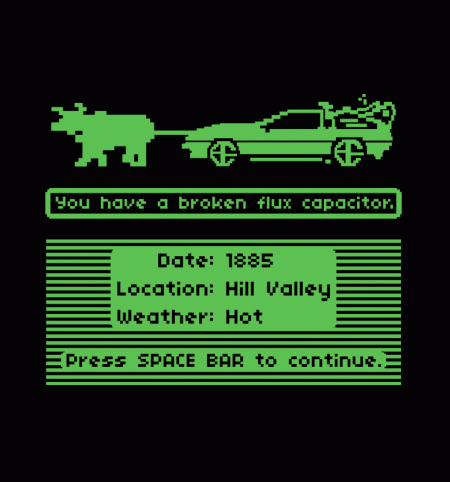 BustedTees: Delorean Trail