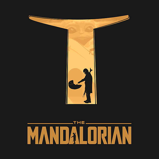 TeePublic: Mandalorian Baby