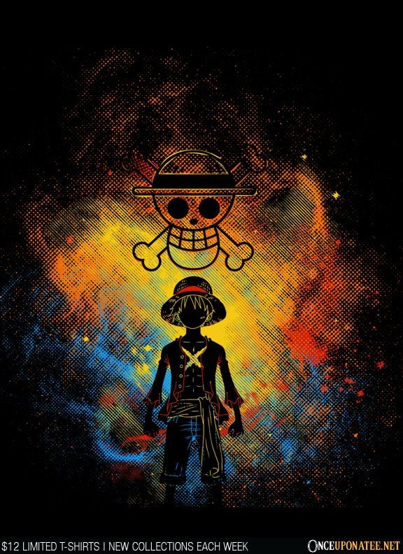 Once Upon a Tee: PIrate Art