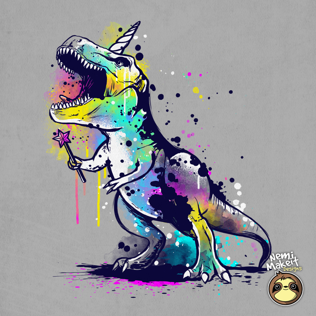 TeeTee: Unicornosaurus rex