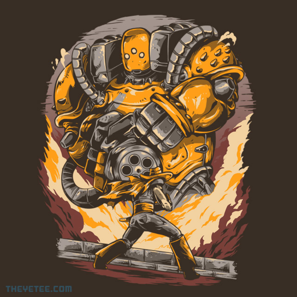 The Yetee: Epic Guns