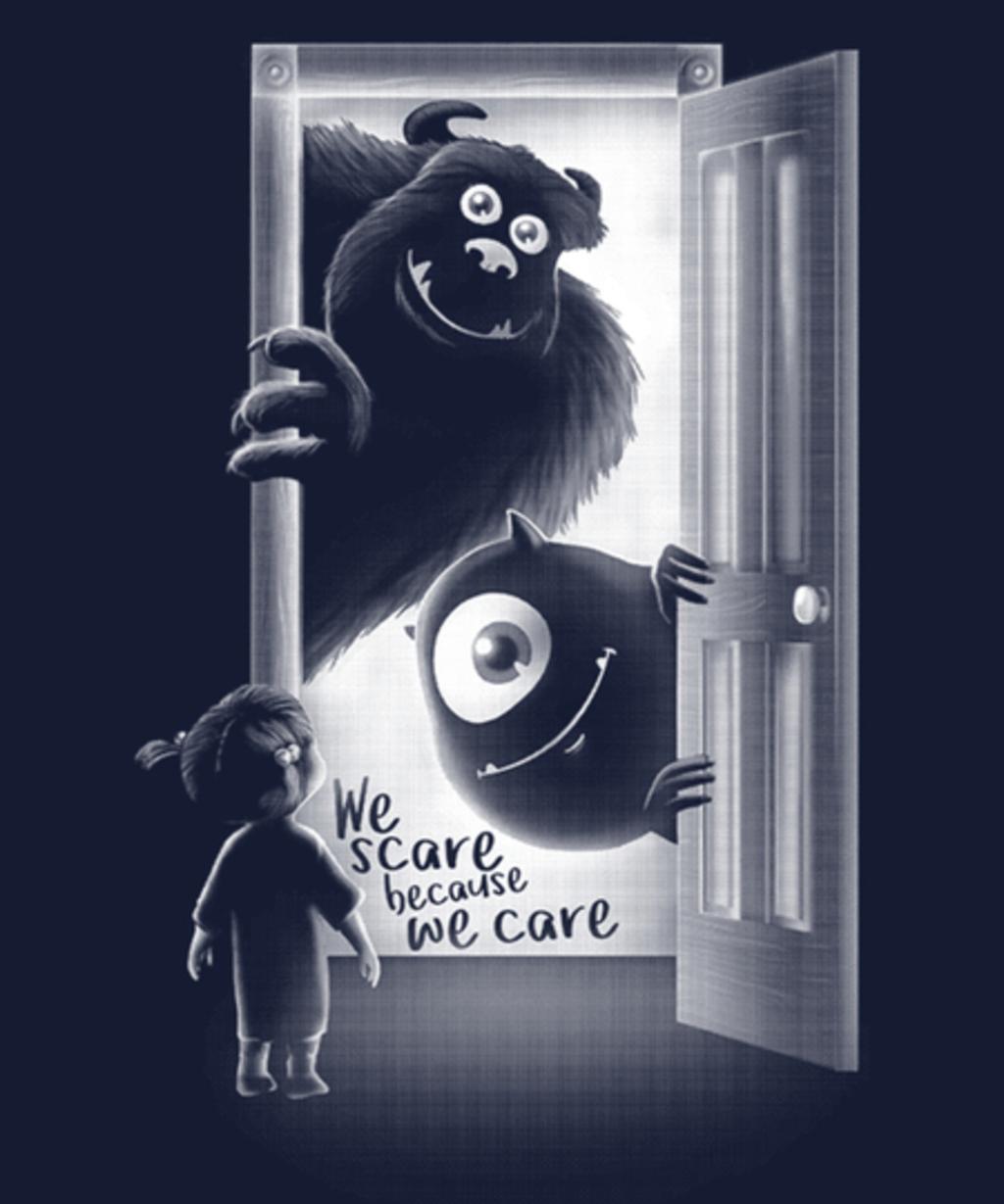 Qwertee: Monster inside