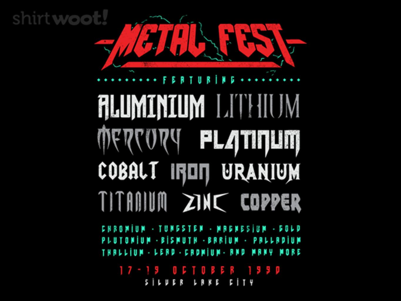 Woot!: Metal Fest