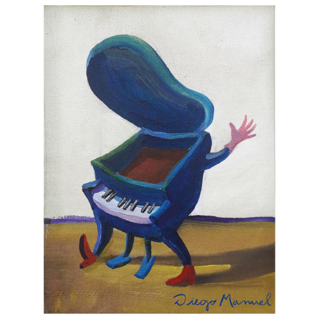 NeatoShop: Small blue piano