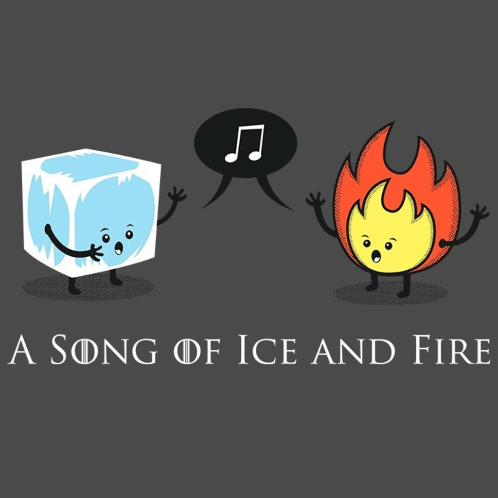 We Heart Geeks: A Song of Ice and Fire - Men's T-Shirt