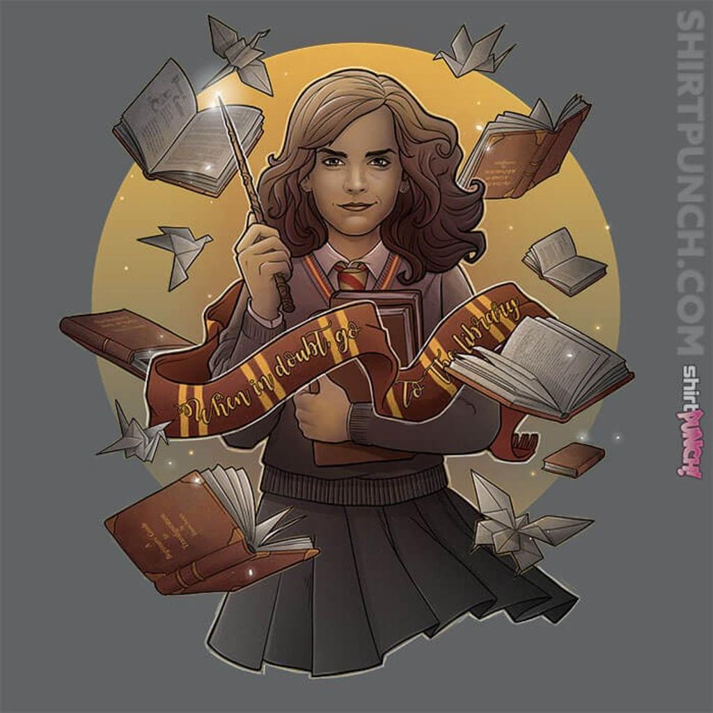 ShirtPunch: The Magic Of Books