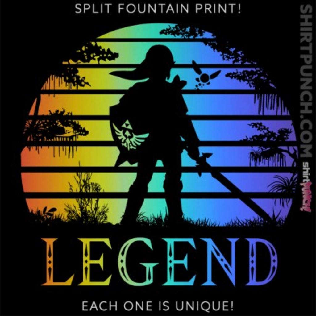 ShirtPunch: Legend Sunset