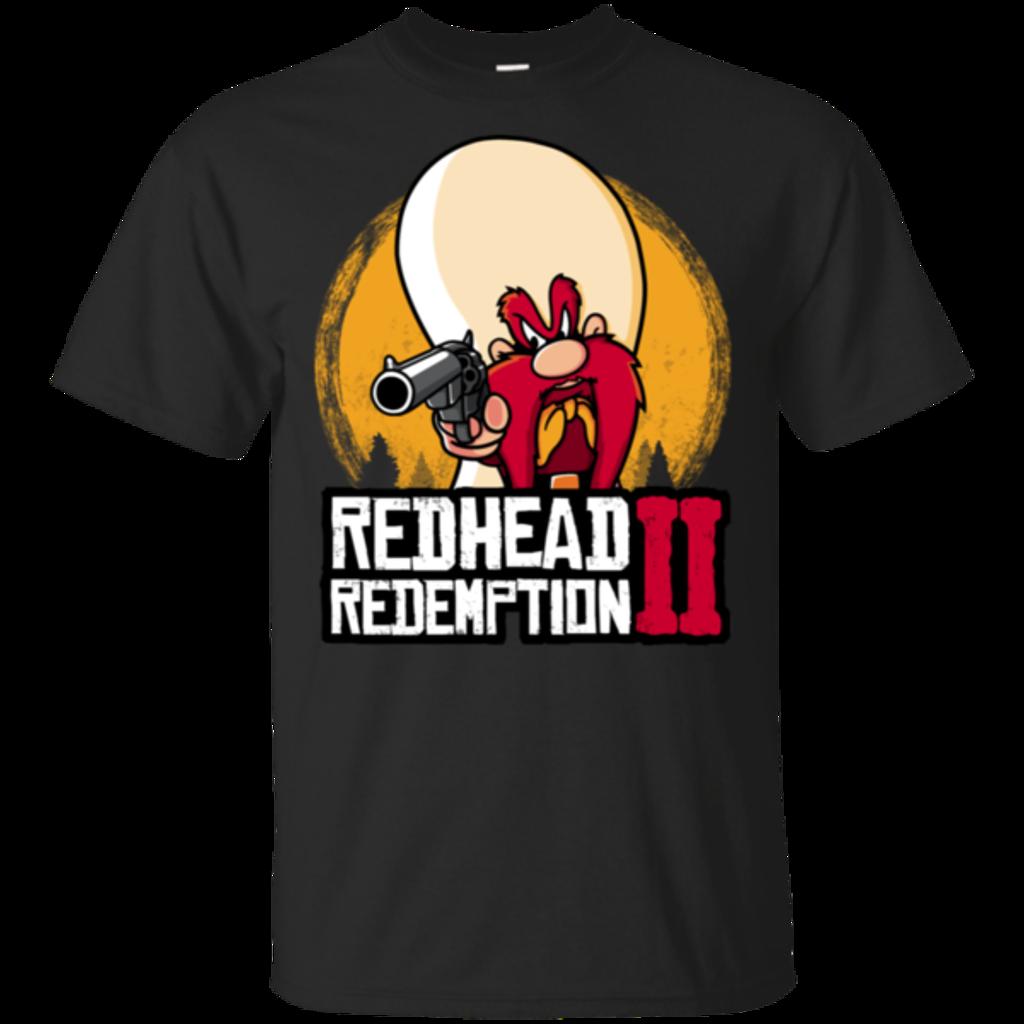Pop-Up Tee: Redhead Redemption