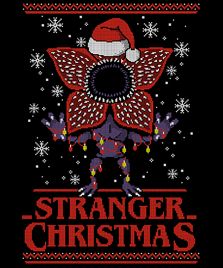 Qwertee: Stranger Christmas