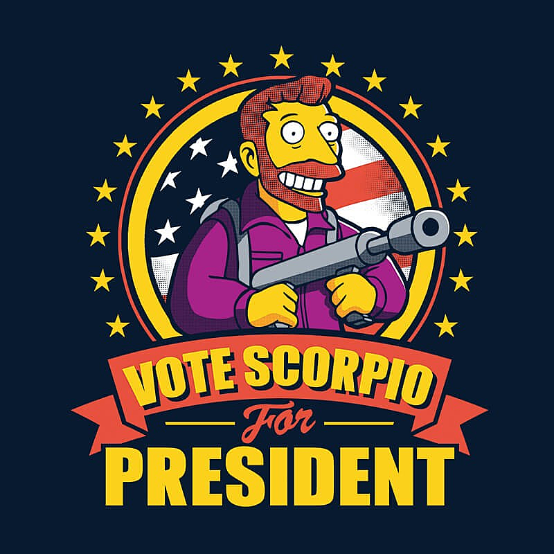 ShirtPunch: Vote Scorpio