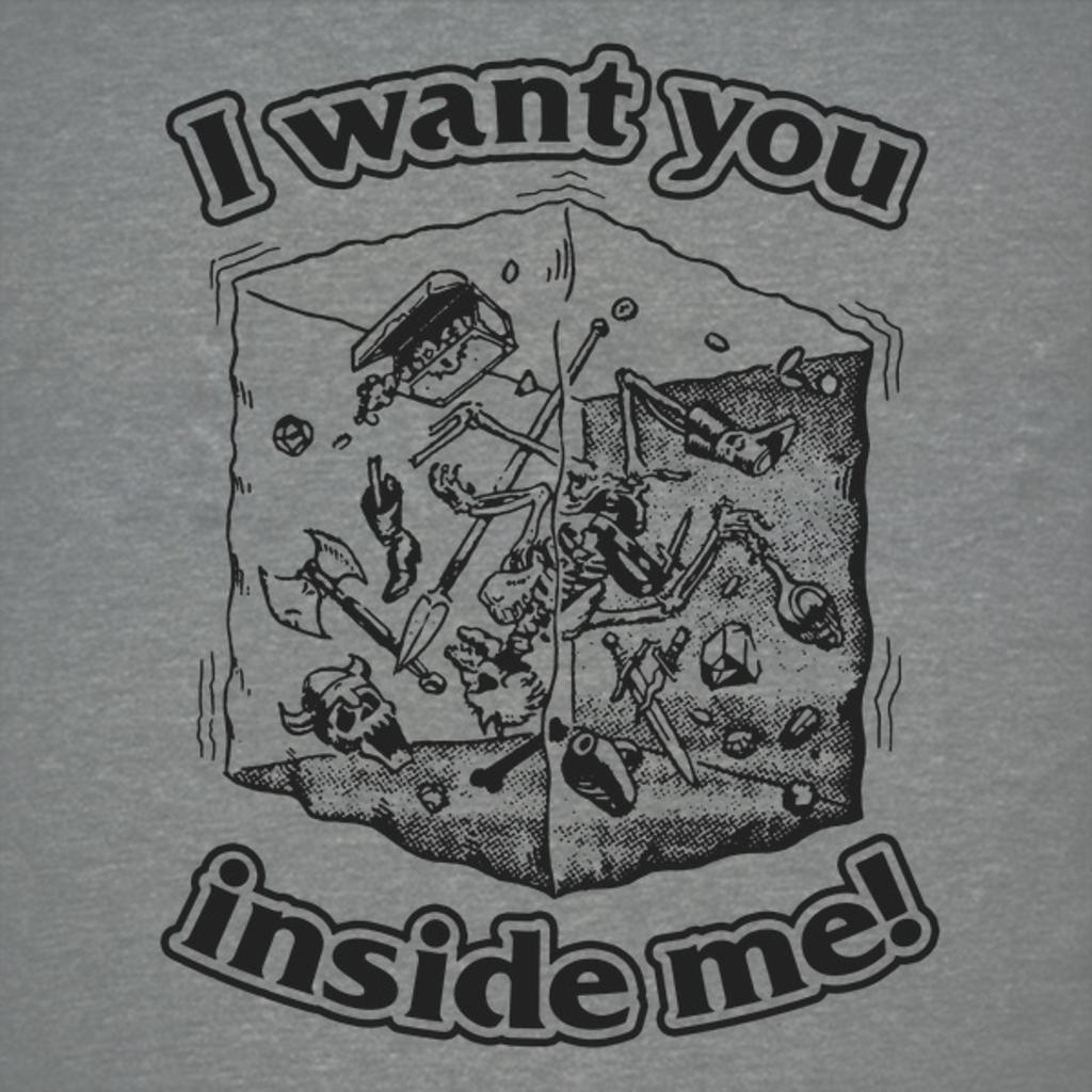 NeatoShop: I want you inside me Gelatinous Cube