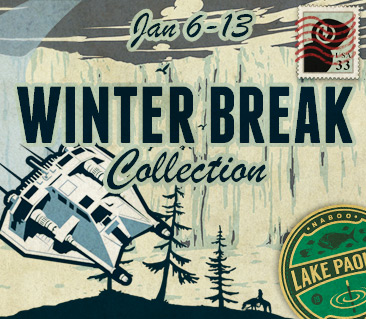 TeeFury: Winter Break Collection