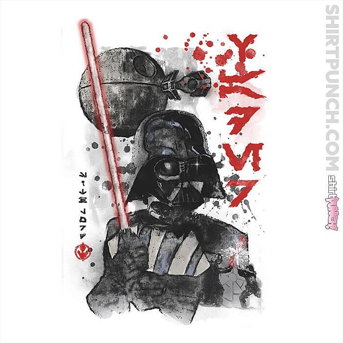 ShirtPunch: Lord Vader