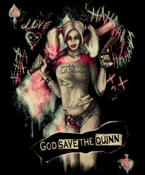 Qwertee: God Save the QUINN!