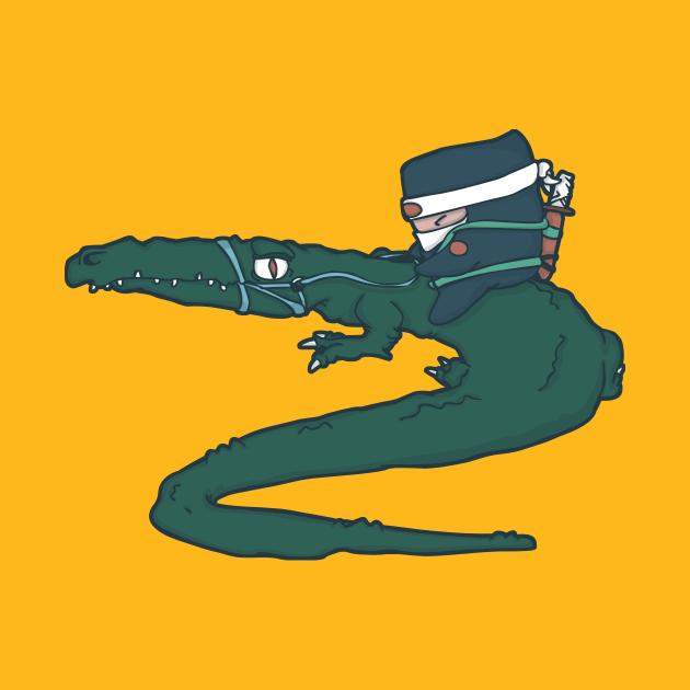 TeePublic: Alligator Ninja