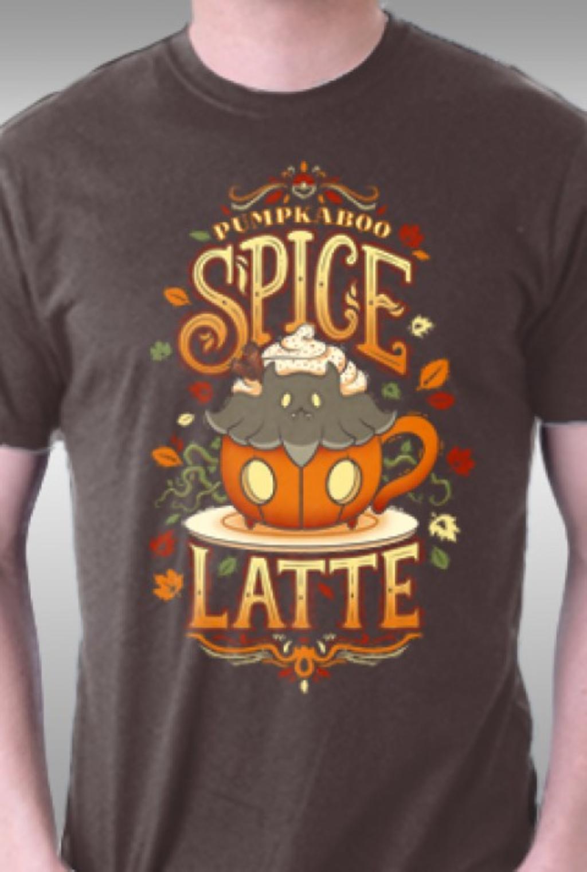 TeeFury: Spooky Spice Latte